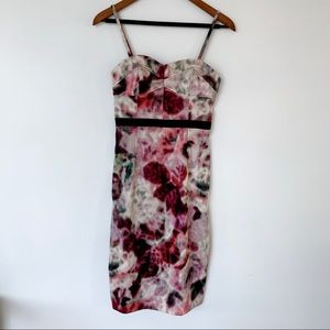 Anthropologie Moulinette Soeurs watercolor dress